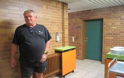 Cheforganisator Jugendwart Hartmut Rose
